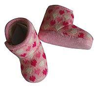 PIDILIDI Dievčenské topánočky so srdiečkami - ružové, EUR 18