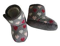 PIDILIDI Dievčenské topánočky so srdiečkami - sivé, EUR 18