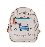 Pink Lining Mini detský batoh - It´s a dog´s life