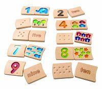 Plan Toys Čísla 1 - 10 (AJ)