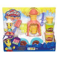 Play-Doh Town zmrzlinárskej auto
