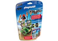 Playmobil 6162 Kapitán pirátov s interaktívnym zeleným kanónom