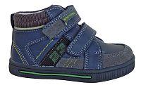 Protetika Chlapčenské kožené členkové topánky Drako - tmavo modré, EUR 26