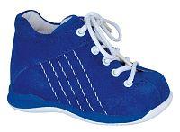 Protetika Chlapčenské kožené členkové topánočky Baby - modré, EUR 17