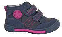 Protetika Dievčenské kožené členkové topánky Nora - šedé, EUR 28