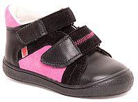RAK Dievčenské členkové tenisky Agáta - ružovo-čierne, EUR 28