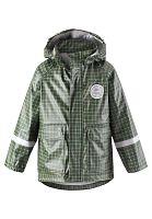 Reima Chlapčenská nepremokavá bunda Vihma - tmavo zelená, 110 cm