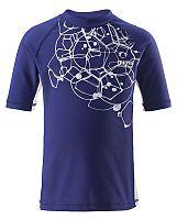 Reima Chlapčenské plavecké tričko Kréte s UV 50+ - modré, 104 cm