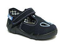 Ren But Detské papučky na suchý zips modrej farby, EUR 20