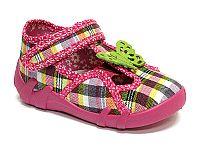 Ren But Dievčenské papučky s motýlikom - farebné, EUR 21