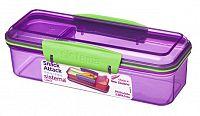 Sistema Box na desiatu, 410 ml - fialový