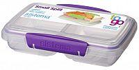 Sistema Box na desiatu / obed, 350 ml - fialový