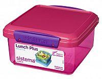 Sistema Box na obed, 1,2 l - ružový