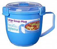 Sistema Hrnček na polievku, 900 ml - modrý