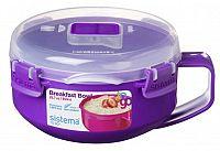 Sistema Miska na raňajky, 850 ml - fialová