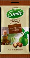 SMILE Vlhčené obrúsky Mаkadamový olej 2x10 ks