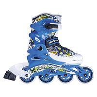 Spokey Kolieskové korčule junior Colorado, veľkosť 34-37 - modré
