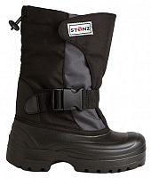 Stonz Detské zimné trekové topánky - šedo-čierne, EUR 32