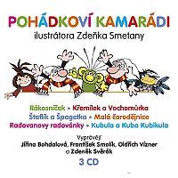 Supraphon Rozprávkoví kamaráti - 3 CD