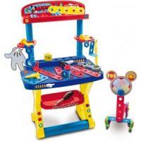 Teddies KMS Pracovný stôl / Ponk Mickey Mouse 30 doplnkov