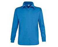 Trespass Chlapčenské funkčné polo tričko Dolomite - modré, 116 cm