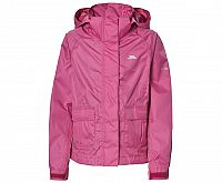 Trespass Dievčenské nepremokavá bunda Twister - ružová, 116 cm