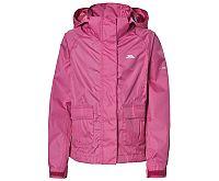 Trespass Dievčenské nepremokavá bunda Twister - ružová, 128 cm