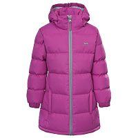 Trespass Dievčenský kabát Tiffy - fialový, 98 cm