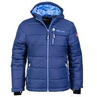 Trollkids Detská zimná bunda Hemsedal - modro-tyrkysová, 98 cm