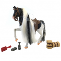 Wiky Royal Breeds - Cvičený koník Lysinka- biely