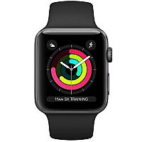 Apple Watch Series 3 GPS 38mm Grey Case + Black Bracelet
