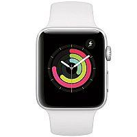 Apple Watch Series 3 GPS 42mm Silver Case + White Bracelet