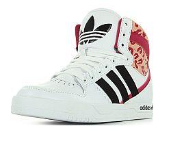 Adidas Dievčenské botasky Court Attitude - biele, EUR 32