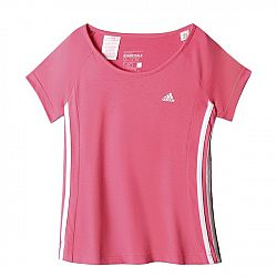 Adidas Dievčenské tričko, ružové, 116 cm
