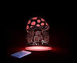 Aloka Nočné svetielko Muchotrávka + ovládač pre voľbu farieb