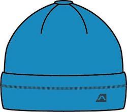 ALPINE PRO Chlapčenská zimná čiapka Sperandio - modrá, 104 cm