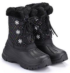 ALPINE PRO Dievčenská zimná obuv Tanggoi - čierna, EUR 31