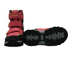 ALPINE PRO Dievčenské vysoké zimné topánky Dairo - ružové, EUR 32