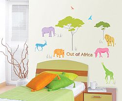 Ambiance Dekoračné samolepky - Afrika