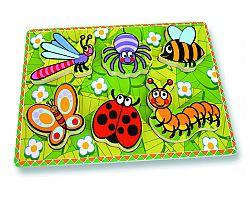 ANDREU Toys Hmyzie puzzle