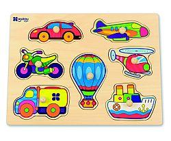ANDREU Toys Puzzle Dopravné prostriedky