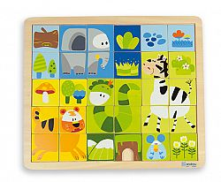 ANDREU Toys Puzzle z džungle