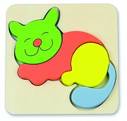 ANDREU Toys Vkladačka mačička