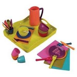 B-Toys Jedálenská súprava na hranie