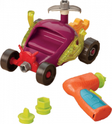 B-Toys Stavebnica pretekárske auto