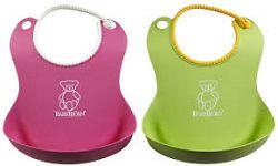 Babybjörn Podbradníky mäkké 2 ks zelený / pink