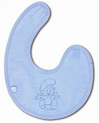 Babyboum Podbradník / slintáčik Funky, 21 cm, modrý