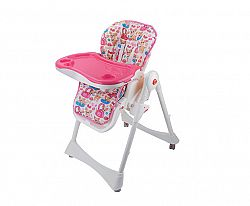BabyGO Detská jedálenská stolička Animalz -Psy