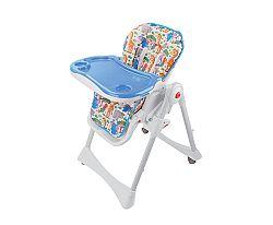 BabyGO Detská jedálenská stolička Animalz - safari