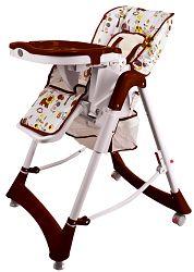 BabyGO Jedálenská stolička Tower Jungle